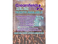 CREAMFIELDS 2018 TICKETS AVAILABLE - Drop Offs