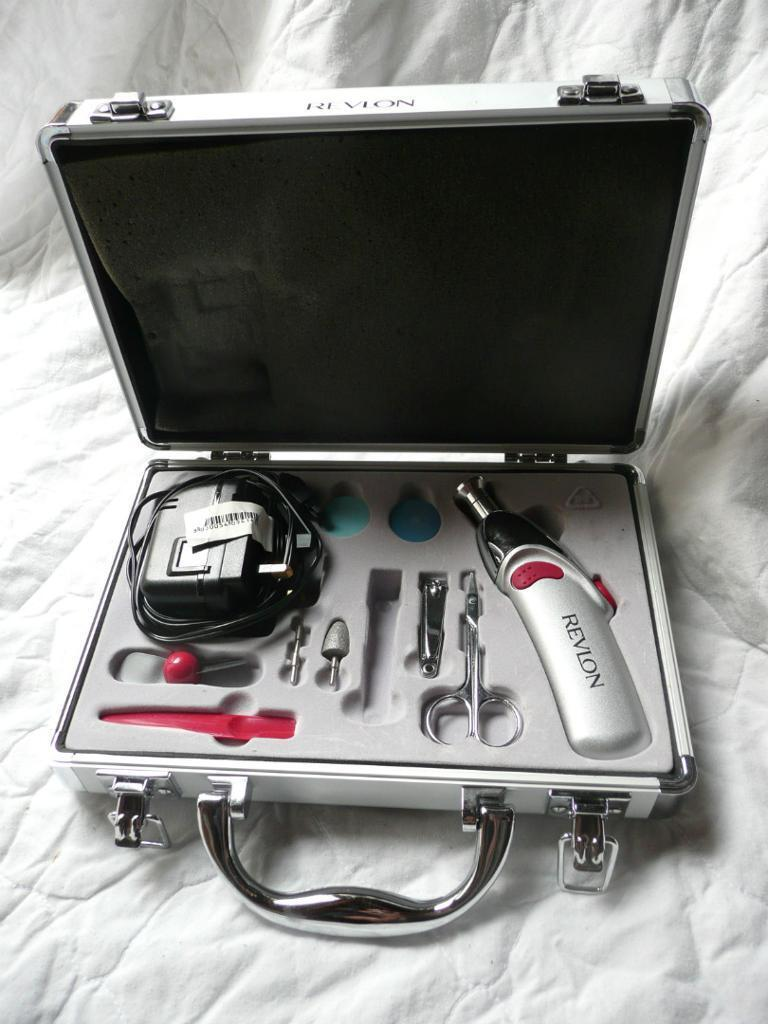 Revlon Professional Nail Care System includes 6 attachments + nail ...