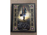 Fantastic Beasts hard back book -As New
