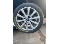 Ford Fiesta 1.0 eco boost titanium alloy wheels