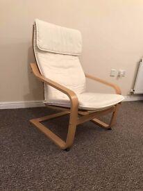 IKEA POÄNG armchair - 1 month old