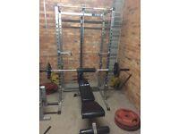 Complete Home Gym Set up