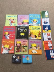 Children's book bundle (little princess, Miffy and fairy/princess