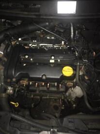 Vauxhall twinport engine z14xep 77k corsa c, corsa d, mk5 astra h