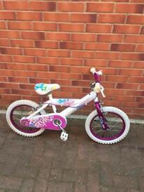 "HUFFY STYLE Girls bike 16""wheels size Bargain"