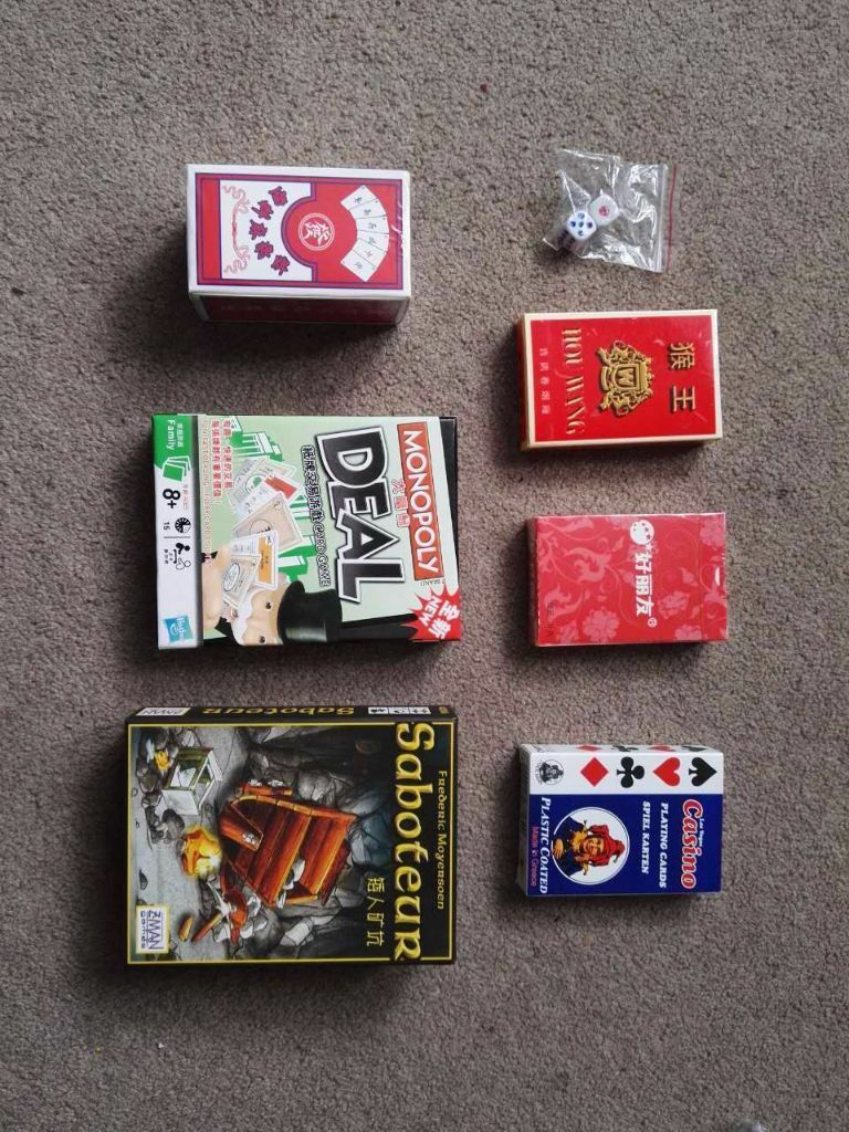 Monopoly Card Game Set Saboteur Card Set Paper Majiong Set