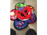 Lamaze activity mat and tummy time ladybird
