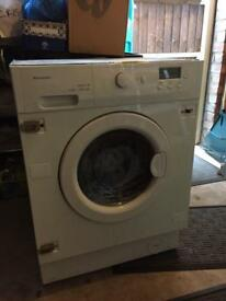 Baumatic BWD12.1 60cm Fully Integrated Washer Dryer - As New Condition - Fully Working