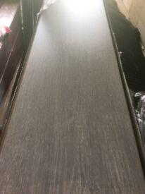 5 packs of grey laminate flooring