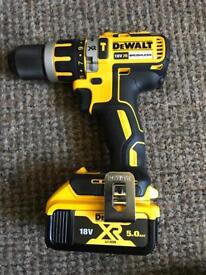 Dewalt brushless combi drill and battery