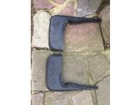 Bmw compact rear mud flaps as new