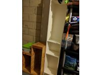 FREE! Collection only...White Tall IKEA shelving unit
