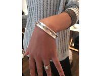 Tiffany & Co Silver Bangle - 925 - 1837 Collection