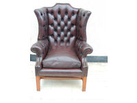 Chesterfield quality armchair (Delivery)