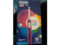 Brand new oral b junior electric toothbrush