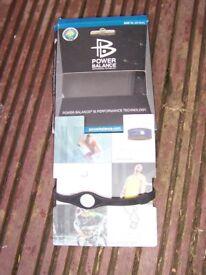 Black Power Balance Silicone Wristband Sport Wristband