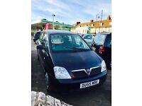 ✅ 2005 55 Vauxhall Meriva 1.4 i 16v Life 5dr ✅