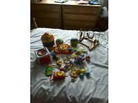 Baby toys, jackets, socks, shoes etc