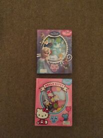 Stuck in story's hello kitty and frozen
