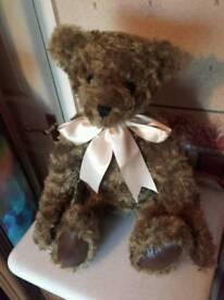 Traditional mohair 24 inch teddy bear.