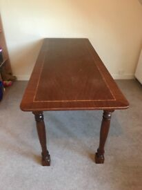 Beautiful and solid dining table for sale