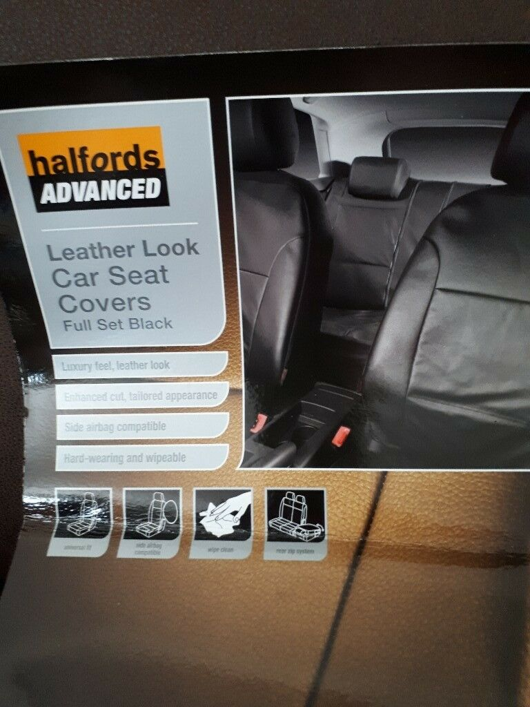 Halfords Black Car Seat Covers In Adel West Yorkshire