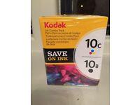 Kodak combo ink pack 10c and 10b