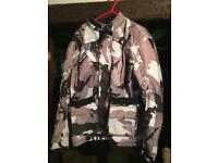 Men's armoured motorbike jacket size XXL