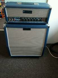 Subzero hd50r and 4x10 cab electric guitar amp amplifier