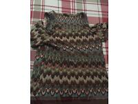 Patterned Size 16 Top