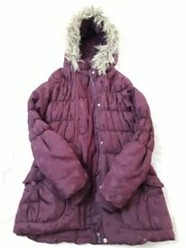 Girl's Coat For Sale In Very Good Condition