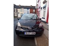 Toyota AYGO Black, Hatchback, 2007, Manual, 998 (cc), 5 doors