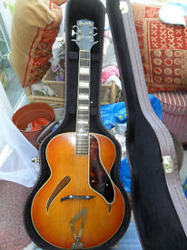 gretsch synchromatic archtop c1940s px poss