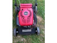 Mountfied 18' self propelled lawnmower