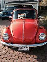 73 VW Beetle Convertible