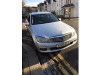 Merc C220 SE CD1 4 dr saloon diesel HPI Clear Immaculate condition leather seats MOT till March 2017