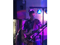 Bassist / Bass Player Available - Wants Gigging Rock/Pop Band in Leicestershire