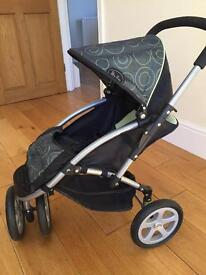 Silver cross dolls buggy