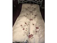 Dunelm two complete bed sets with matching bedspread