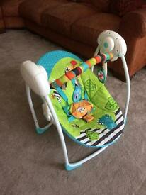 Bright starts Zoo animals Baby swing