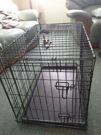 Collapsable Metal Dog crates (small) 38cm * 76cm * 54cm