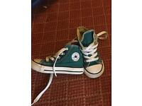 Converse All Star High-tops infant size 6