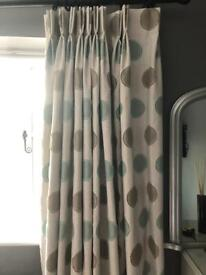 Curtains Blackout pinch pleat heading.