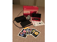 NINTENDO 3DS CONSOLE - METALLIC RED