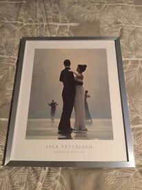 jack Vettriano Print in frame