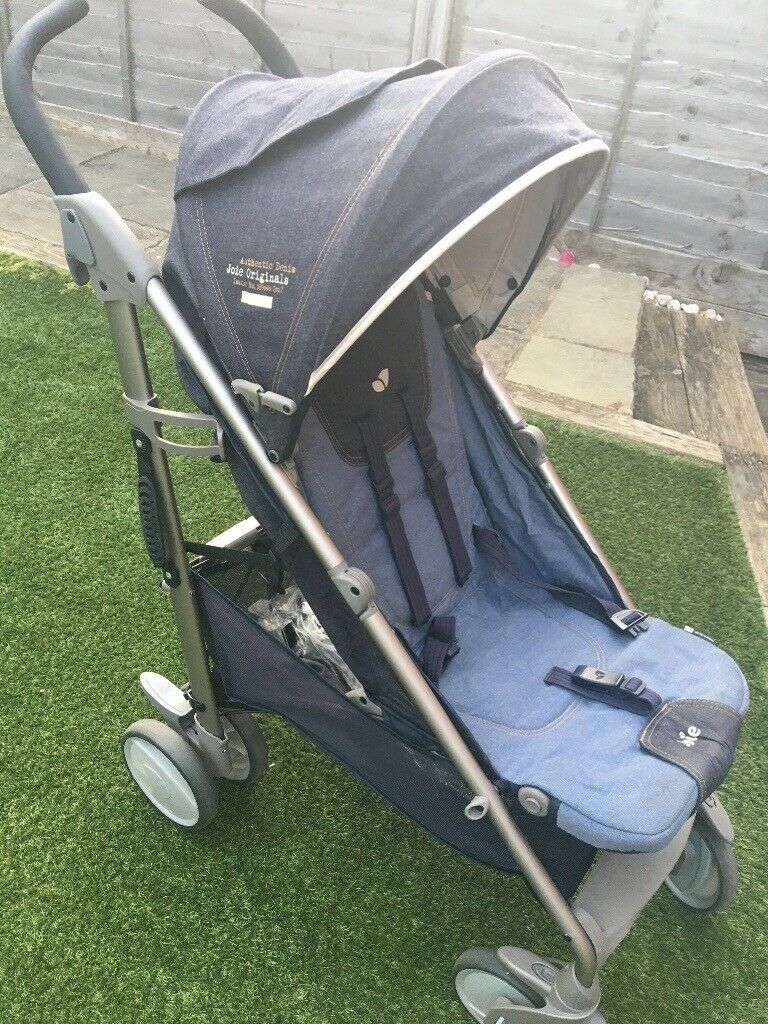Joie Brisk stroller limited edition denim pushchair buggy ...