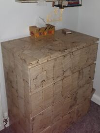 Harry Potter custom chest of drawers