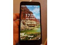 LG Nexus 5X phone running Android 8.0 / Oreo