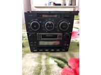 Lexus is200 Radio cd cassette Player heater control