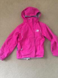 Girls Karrimor waterproof coat